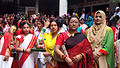 Bangladeshi students celebrating Pohela Boishakh (17152701325).jpg