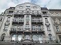 Bank. Cornerbuilding. Facade detail. - József Attila Street and Nádor Street, Budapest District V.; Budimpešta, grad mađarski (2).jpg