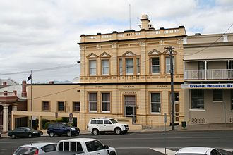 Bank of New South Wales building, Gympie - Bank of New South Wales Building, 2011
