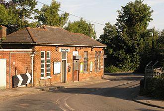 Nork, Surrey - Banstead railway station
