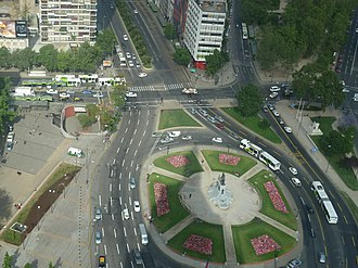Plaza Baquedano - Plaza Baquedano