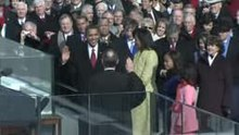 ファイル:Barack Obama Oath of Office.ogv
