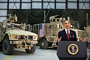 Barack Obama addresses people of United States from Afghanistan 2012