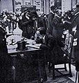 Barcelonan maailmannäyttely 1929 - Alfonso XIII Suomen osastolla.jpg