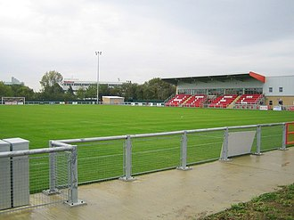 Harlow Town F.C. - The Harlow Arena ground