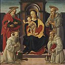 Bartolomeo di Giovanni - Madonna and Child Enthroned with Saints 2011 CKS 08007 0020.jpg