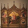 Bartolomeo vivarini, madonna dell'umiltà, annunciazione, natività e pietà, 1465 ca..JPG