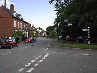 Barton-under-Needwood village in United Kingdom