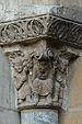 Basilica of Saint-Sernin - Porte des Comtes - Capitals n04 - Moses, Aaron and Hour.jpg