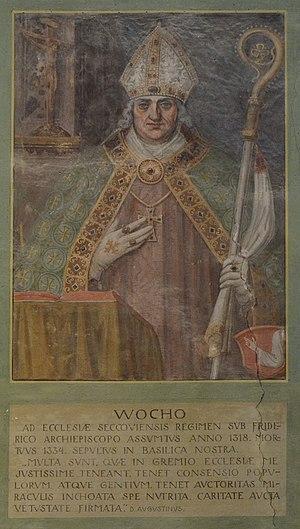 Basilika Seckau, Bischofskapelle, Halbfigurenportrait Bischof Wocho.jpg