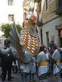 Basilisc de Reus - cercavila de les festes del Barri Gòtic P1520709.jpg