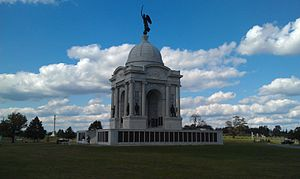 105th Pennsylvania Infantry - Battle of Gettysburg Pennsylvania Memorial