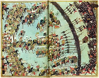 Long Turkish War - Battle of Keresztes, Ottoman miniature