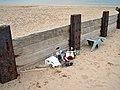 Beach litter - geograph.org.uk - 966946.jpg
