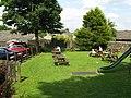 Beer Garden, Anchor Inn, Salterforth - geograph.org.uk - 1381190.jpg