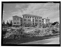 Beirut, Junior Girls' College, administrative bldg. (i.e., building), from N.E. LOC matpc.12783.jpg