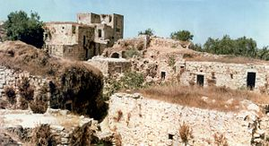 Beit 'Anan - Beit 'Anan in the past