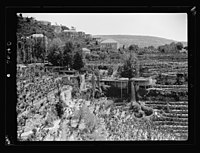 Beit Ed-Din. The Shehab Palace (held as a national monument). Village LOC matpc.15451.jpg