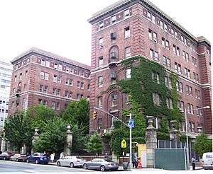 Bellevue Hospital - The original Bellevue Psychiatric Hospital building