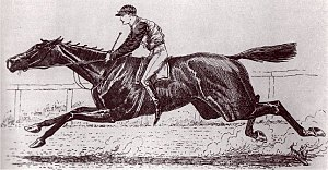 1886 Kentucky Derby - 1886 Kentucky Derby winner Ben Ali