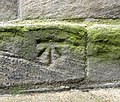 Benchmark on St Marys Church (geograph 2002642).jpg