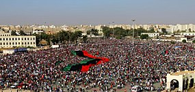 Benghazi the 1.5 million Anti-Qadafi protest.jpg
