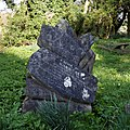 Benjamin Moran grave marker Church of St Mary and St Christopher, Panfield.jpg