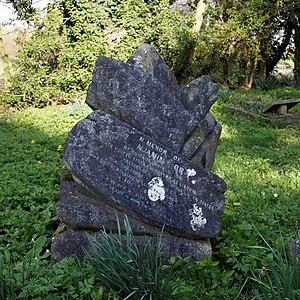 Benjamin Moran - Benjamin Moran's grave at St Mary and St Christopher's Church, Panfield, Essex.