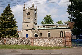 Benson, Oxfordshire - Image: Benson church