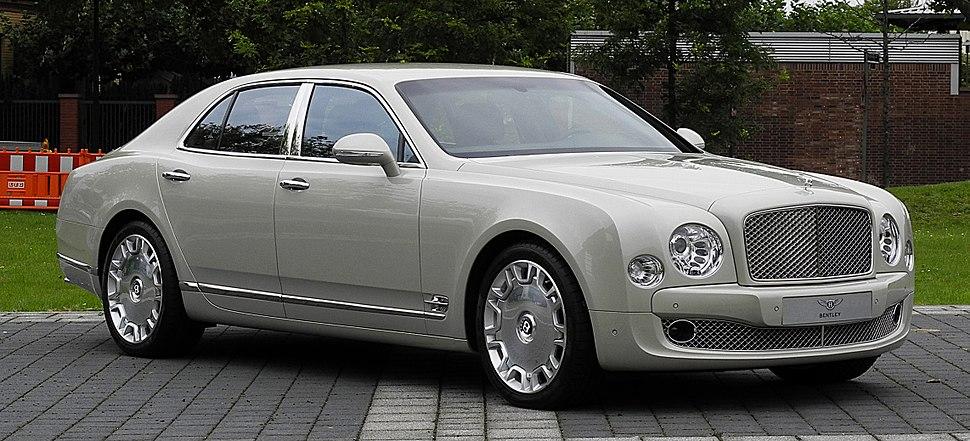 Bentley Mulsanne – Frontansicht (1), 30. August 2011, Düsseldorf