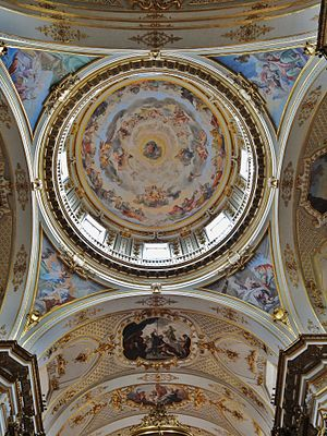 Bergamo Cathedral - The dome