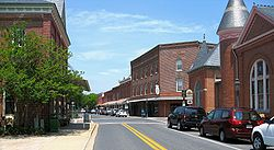 Downtown Berlin, Maryland