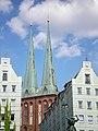 Berlin, Nikolaikirche, Türme 2014-07.jpg