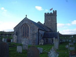 Berrow, Somerset - Image: Berrow church