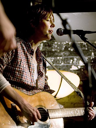 Beth Orton - Orton at the Mojo club night at the Slaughtered Lamb, Clerkenwell 2009