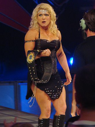Beth Phoenix - Phoenix with the Women's Championship at No Mercy