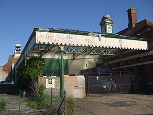 Bexhill West railway station - Image: Bexhill West Station 2