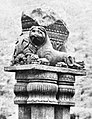 Bharhut right pillar front and left side view.jpg