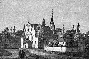 Byaroza - Byaroza monastery, a picture by Napoleon Orda