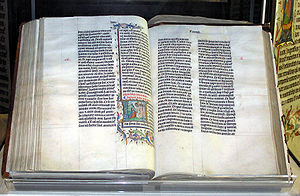 Religious text - Christian Bible, 1407 handwritten copy