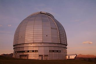 Víctor M. Blanco Telescope - Image: Big asimutal teleskop