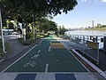 Bikeway and footpath along Brisbane River in Toowong, Queensland, Australia 01.jpg