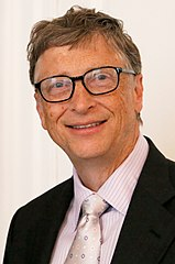 Bill Gates w lutym 2014