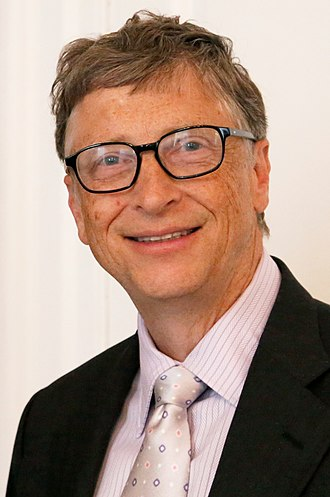 Business magnate - Image: Bill Gates July 2014