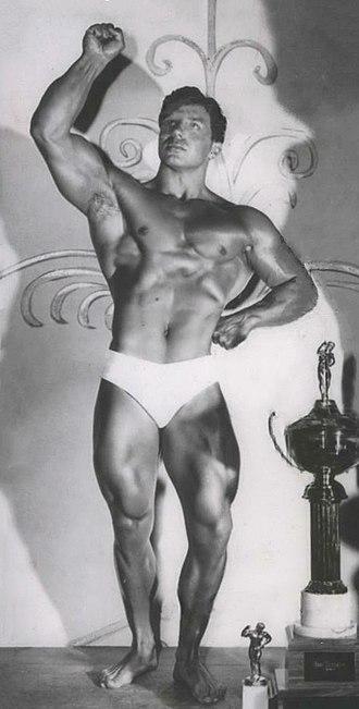 Bill Pearl - Pearl after winning the 1956 Mr. U.S.A.
