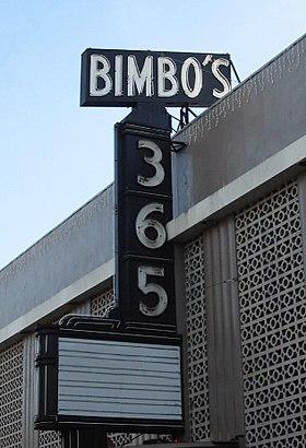 Cómo llegar a Bimbo's 365 Club en transporte público - Sobre el lugar