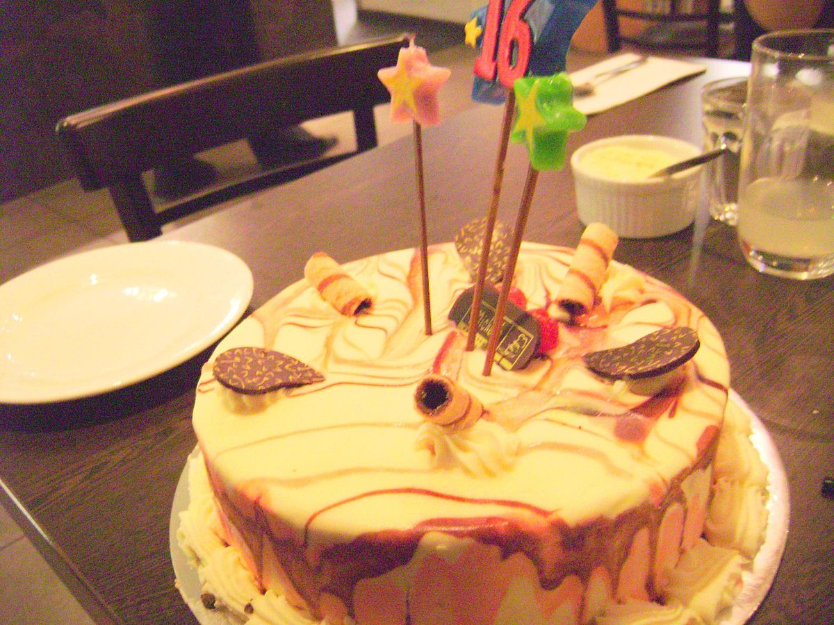 Awesome File Birthday Cake In The City Jpg Wikimedia Commons Funny Birthday Cards Online Drosicarndamsfinfo