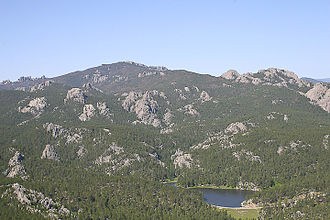 South Dakota - The Black Hills, a low mountain range, is in southwestern South Dakota.