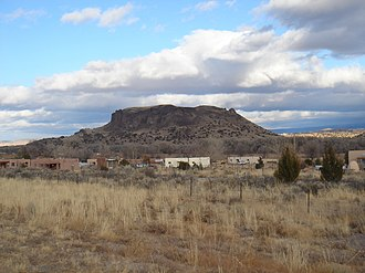 San Ildefonso Pueblo, New Mexico - Black Mesa