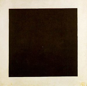 Black Square, 1913, Oil on Canvas, State Russi...